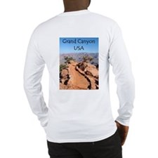 Grand Canyon USA Long Sleeve T-Shirt