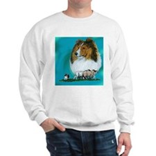Sheltie Sable Herding Sweatshirt