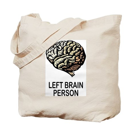 LEFT BRAIN Tote Bag
