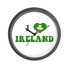 I Love Ireland Wall Clock