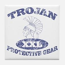 Trojan Protective Gear XXL Tile Coaster