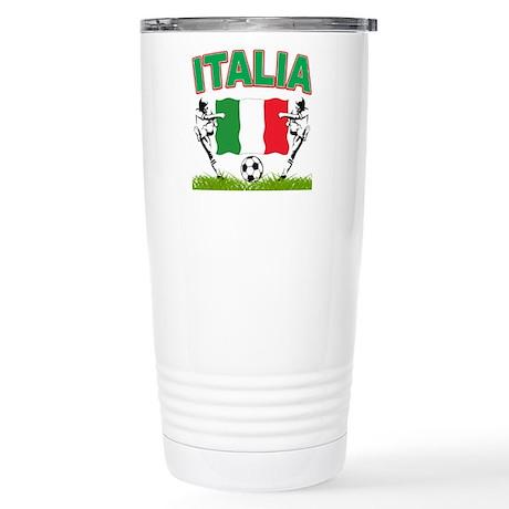 2010 World Cup Italia Stainless Steel Travel Mug