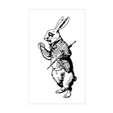 White Rabbit Decal