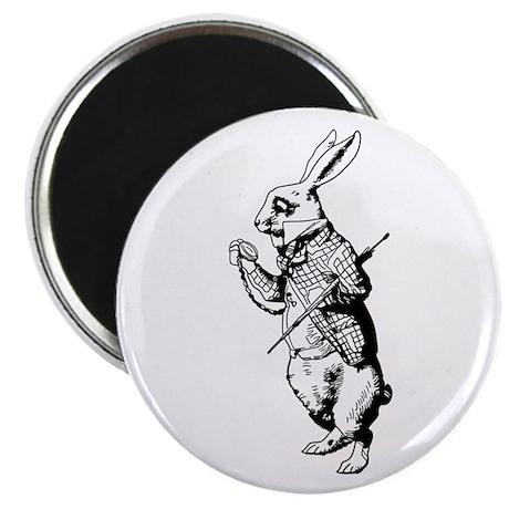 White Rabbit Magnet