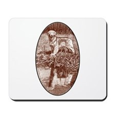 Reflected Gold (sienna) Mousepad