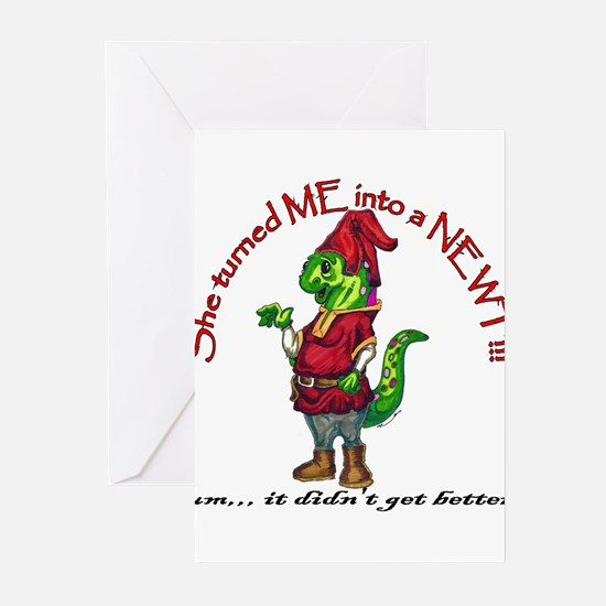 Funny Monty python Greeting Cards (Pk of 20)