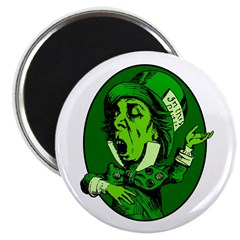 Mad Hatter Oval in Green 2.25