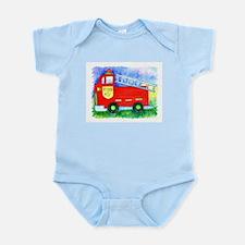 Kids Stuff - Fire Truck #5 Infant Creeper