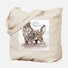 Adult Golden Tote Bag
