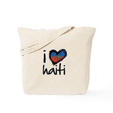 Funny Haiti Tote Bag