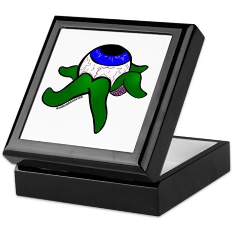 Eye with tentacles Keepsake Box