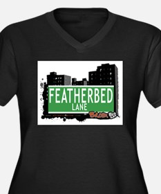Featherbed Ln, Bronx, NYC Women's Plus Size V-Neck