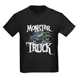 Monster truck Kids T-shirts (Dark)
