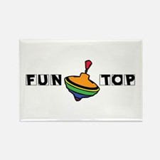 Fun Top Rectangle Magnet