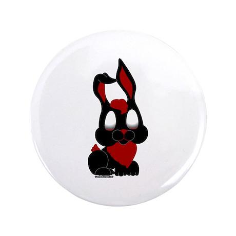 "Dark Bunny 3.5"" Button"
