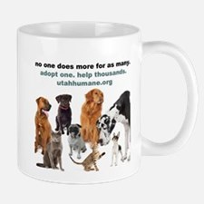 Cute Adopt a shelter pet Mug