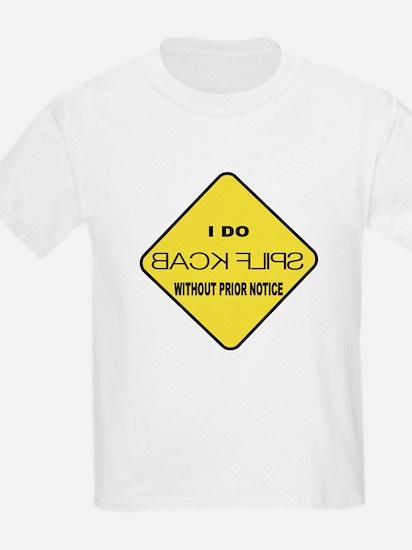 """Back Flips"" Kids T-Shirt"