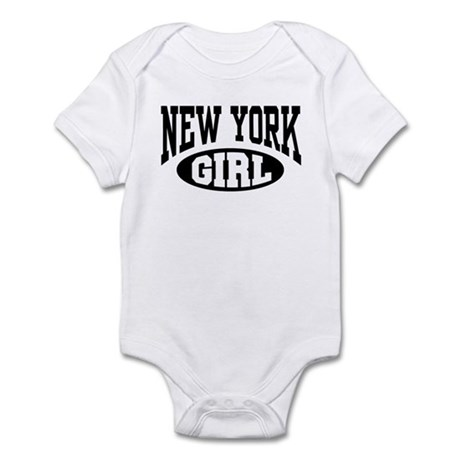 New York Girl Infant Creeper