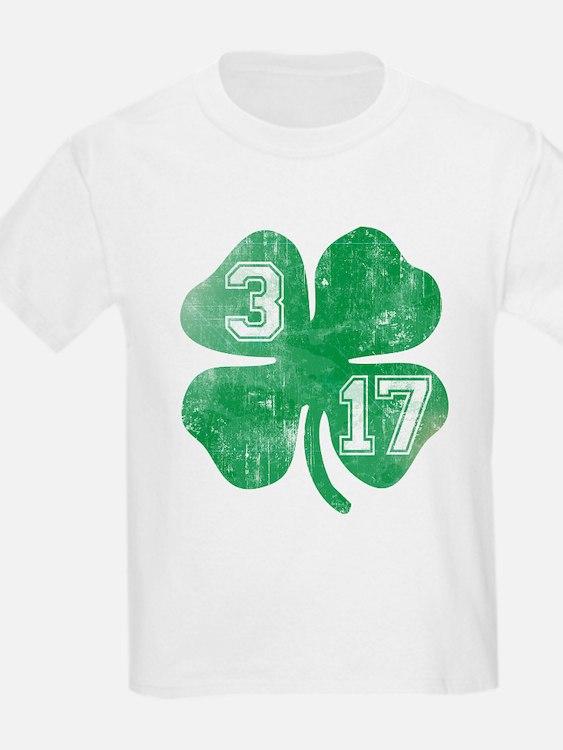 St Patricks Day 3/17 Shamrock T-Shirt