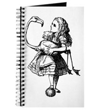 Alice and Flamingo Journal