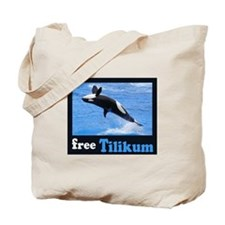 Tilikum the Orca Tote Bag