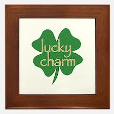 Lucky Charm Framed Tile