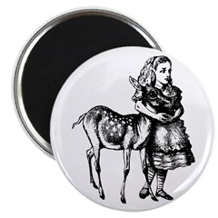 """Alice and Fawn 2.25"""" Magnet (100 pack)"""