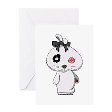 Beanbag Bunny Greeting Card