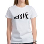 Evolution of The Zombie Women's T-Shirt