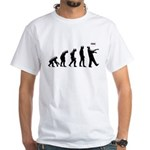 Evolution of The Zombie White T-Shirt