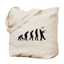 Evolution of The Zombie Tote Bag