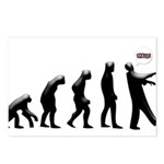 Evolution of The Zombie Postcards (Package of 8)