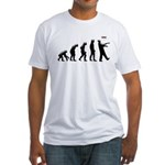 Evolution of The Zombie Fitted T-Shirt
