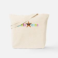 Punta Cana Starfish Multi Tote Bag