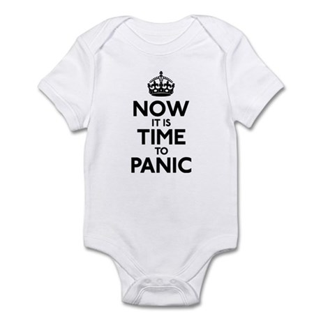 Time To Panic Infant Bodysuit