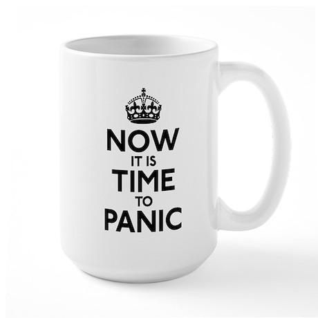 Time To Panic Large Mug