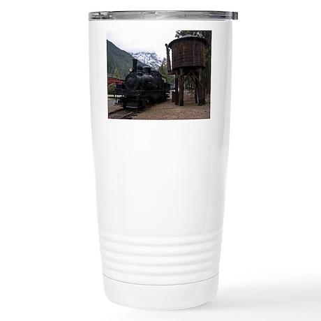 Shay Locomotive & Tower Stainless Steel Travel Mug