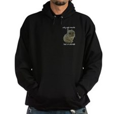 Only Bad People Test on Animals Hoodie