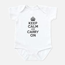 Keep Calm & Carry On Infant Bodysuit