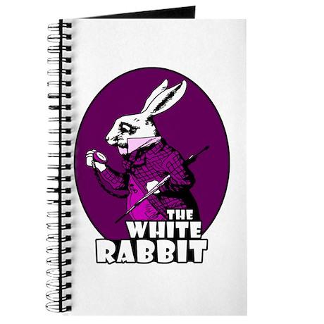 White Rabbit Logo Plum Journal