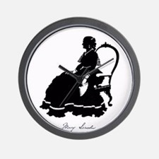 Mary Todd Lincoln Wall Clock