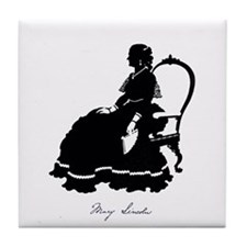 Mary Todd Lincoln Tile Coaster