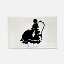 Mary Todd Lincoln Rectangle Magnet (100 pack)