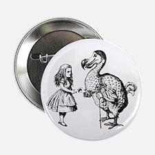 """Alice and Dodo 2.25"""" Button"""