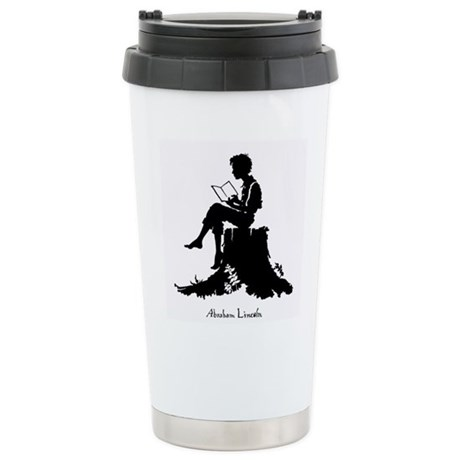 Young Abe Lincoln Stainless Steel Travel Mug