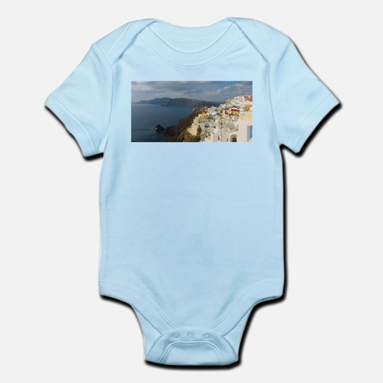 Santorini in the Afternoon Sun Body Suit