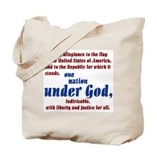 USA under God Tote Bag