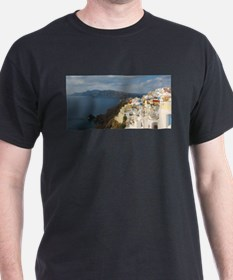 Santorini in the Afternoon Sun T-Shirt