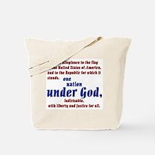 USA under God Tote Bag