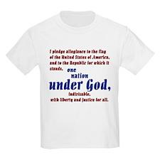 USA under God Kids T-Shirt